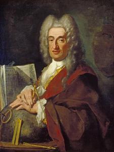 Luca Carlevarijs, C.1724 by Bartolommeo Nazari