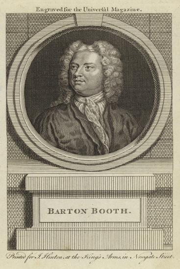 Barton Booth--Giclee Print