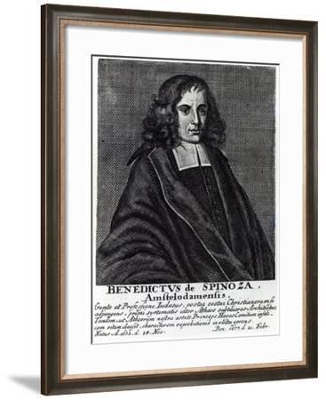 Baruch De Spinoza Giclee Print By Dutch School Artcom