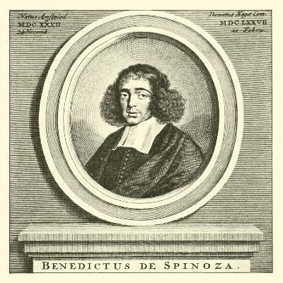 Baruch Spinoza, Dutch Jewish Philosopher--Giclee Print