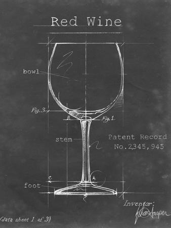 Barware Blueprint III-Ethan Harper-Art Print