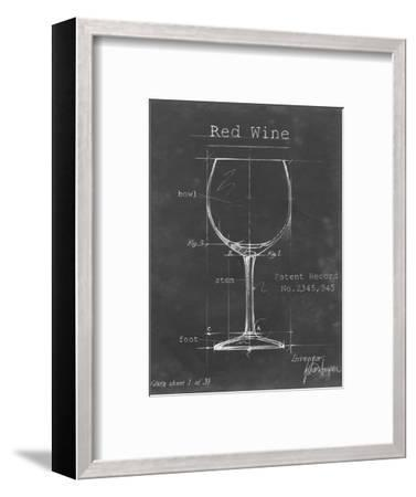 Barware Blueprint III-Ethan Harper-Framed Art Print