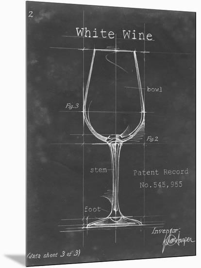 Barware Blueprint IV-Ethan Harper-Mounted Art Print