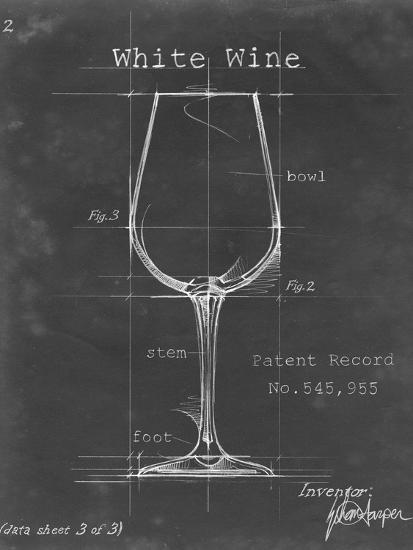 Barware Blueprint IV-Ethan Harper-Art Print