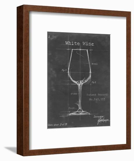 Barware Blueprint IV-Ethan Harper-Framed Art Print