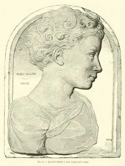 Bas Relief Attributed to Jean Goujon--Giclee Print