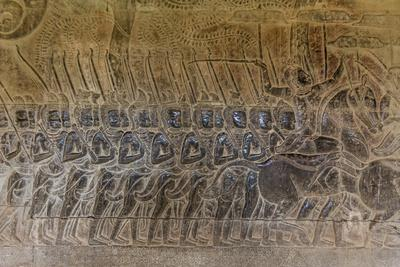 Bas relief carvings angkor wat angkor unesco world heritage
