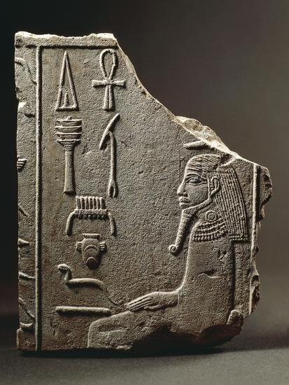 Bas-Relief Depicting Pharaoh Djoser Wrapped in Cloak Worn on Occasion of Jubilee--Giclee Print