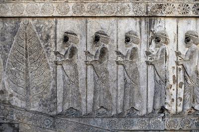 Bas-Relief Depicting Susian Guards, Apadana, Persepolis--Photographic Print