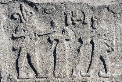 Bas-Relief from Kultepe--Giclee Print