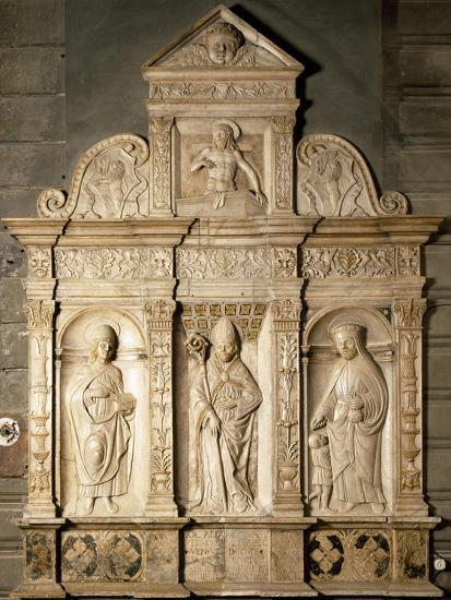 Bas-Relief from Right Side of Altar of Cathedral of Santa Maria Assunta, Cremona, Italy--Giclee Print