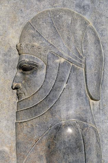 Bas-Relief from Treasure Room, Persepolis--Photographic Print