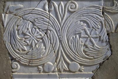 Bas-Relief in Avdat--Photographic Print