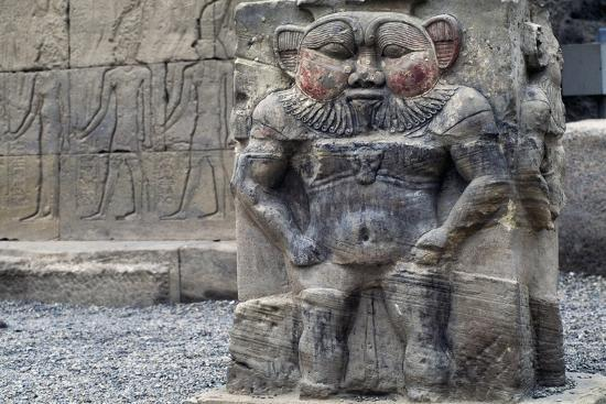 Bas-Relief of God Bes--Giclee Print