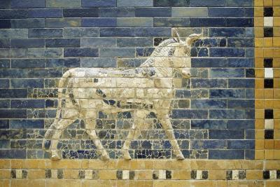 Bas-Relief of Horse Along Processional Way--Giclee Print