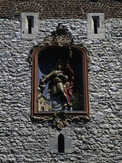Bas-Relief of St Florian--Giclee Print