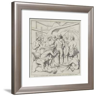 Bas-Relief of the Nelson Column--Framed Giclee Print