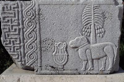 Bas-Relief Showing Coconut Palm and Quadruped, Aleppo Archaeological Museum, Syria--Giclee Print