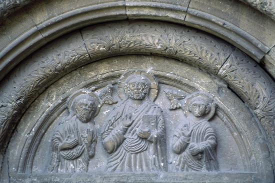 Bas-Reliefs from Roman-Catholic Cathedral in Citadel of Alba Iulia, Romania--Giclee Print