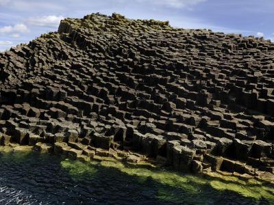 Basalt Columns Near Fingal's Cave on the Isle of Staffa-Jim Richardson-Photographic Print