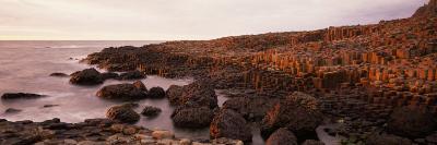 Basalt Columns of Giant's Causeway, Antrim Coast, Northern Ireland--Photographic Print