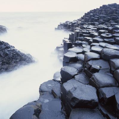 Basalt Columns on Coast-Micha Pawlitzki-Photographic Print