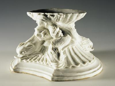 Base Evoking Fountain of Four Rivers by Bernini, 1750-1755--Giclee Print