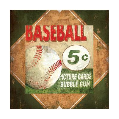 Baseball Card Time-Pied Piper-Art Print