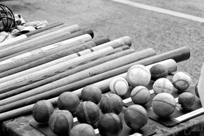 Baseball Equipment Poster