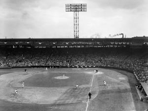 Baseball: Fenway Park, 1956