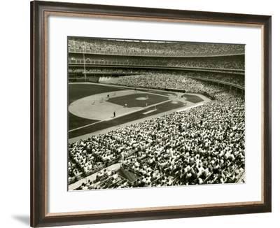 Baseball Game-George Marks-Framed Photographic Print