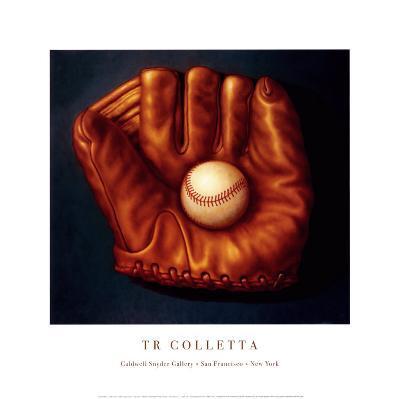 Baseball Mitt I-TR Colletta-Art Print