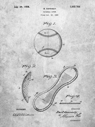 Baseball Patent 1923-Cole Borders-Art Print