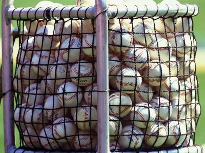 Baseballs--Photographic Print