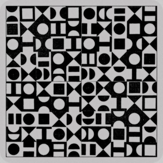 Basic Derivative, 2017, Simulated Woodblock-Peter McClure-Giclee Print