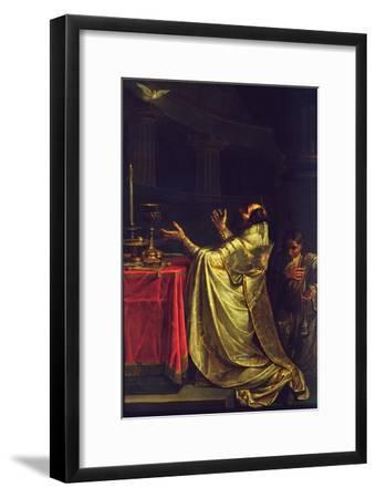 Basil the Great, 1811-12-Vasili Kuzmich Shebuev-Framed Giclee Print