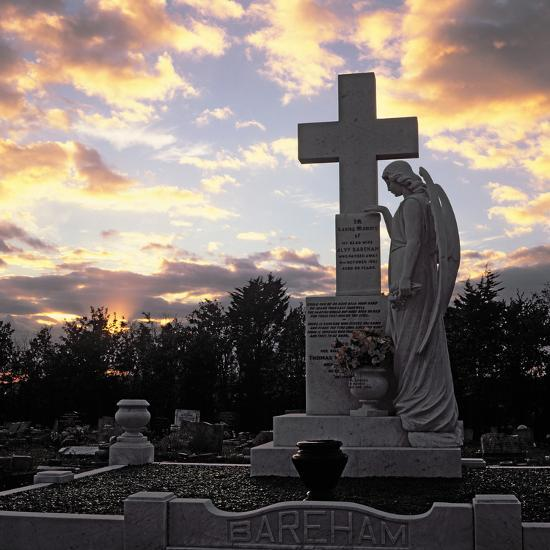 Basildon Cemetery--Photographic Print