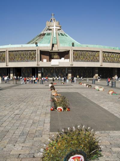 Basilica De Guadalupe, a Famous Pilgrimage Centre, Mexico City, Mexico, North America-Robert Harding-Photographic Print
