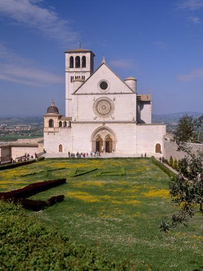 Basilica Di San Francesco Di Assisi, Assisi, Umbria, Italy-Patrick Dieudonne-Photographic Print