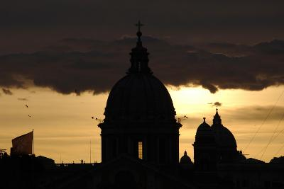 Basilica of Carlo Al Corso at Sunset--Giclee Print