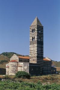 Basilica of Holy Trinity of Saccargia, 12th Century, Codrongianos, Sardinia, Italy