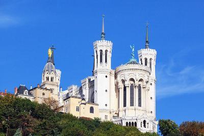 Basilica of Notre-Dame De Fourviere in Lyon-prochasson-Photographic Print