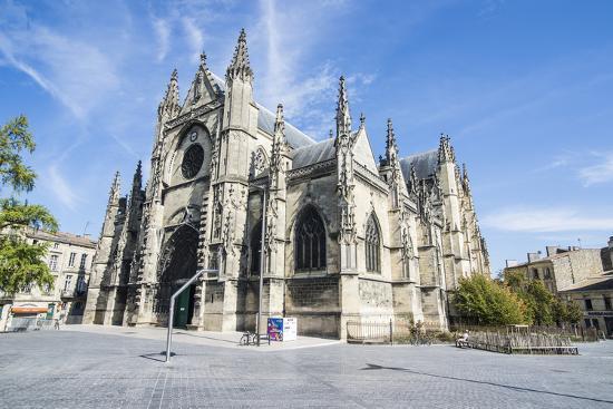 Basilica of Saint Michel, Bordeaux, Aquitaine, France, Europe-Michael Runkel-Photographic Print