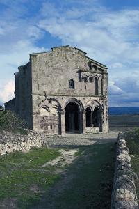 Basilica of Sant'Antioco of Bisarcio, 12th Century, Ozieri, Sardinia, Italy