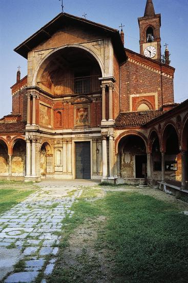 Basilica of St Mary Nuova, 14th Century-16th Century, Abbiategrasso, Lombardy, Italy--Photographic Print