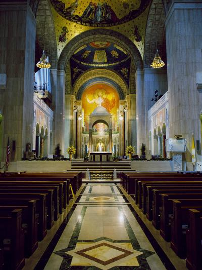 Basilica of the National Shrine of the Immaculate Conception Washington, D.C. USA--Photographic Print