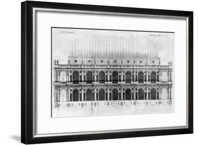 Basilica Palladiana at Vicenza, Designed by Andrea Palladio--Framed Giclee Print