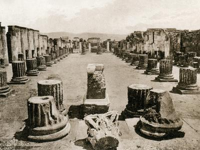 Basilica, Pompeii, Italy, C1900s--Giclee Print