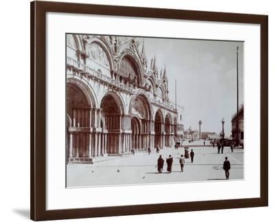 Basilica San Marco, Venice, C.1870-Carlo Naya-Framed Giclee Print