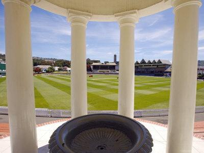 Basin Reserve Cricket Ground Which Houses the National Cricket Museum-Oliver Strewe-Photographic Print
